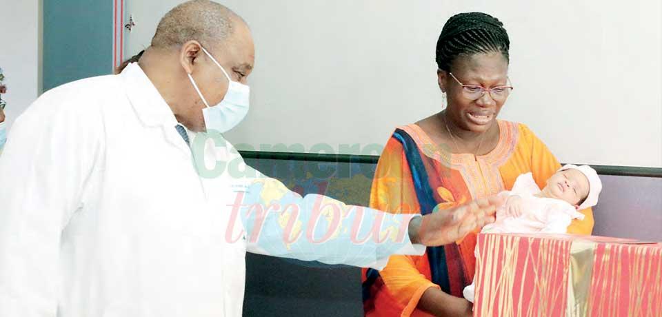CHRACERH : cadeaux surprises de Chantal Biya