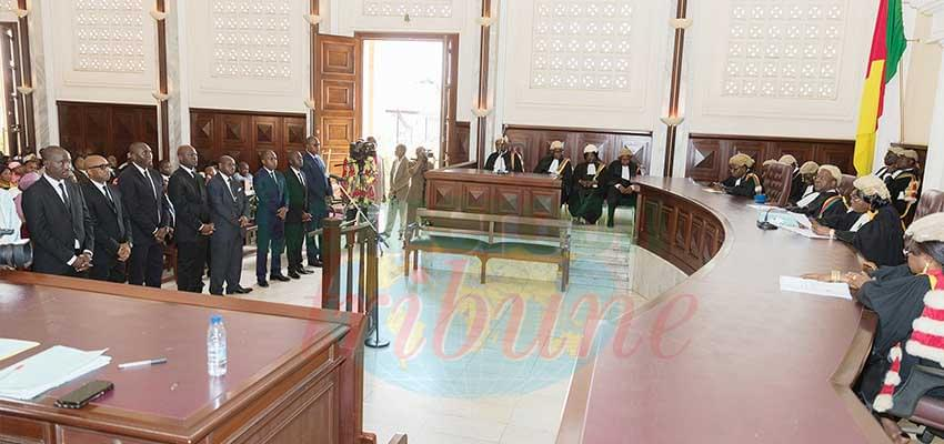 The important ceremony at the Supreme Court.