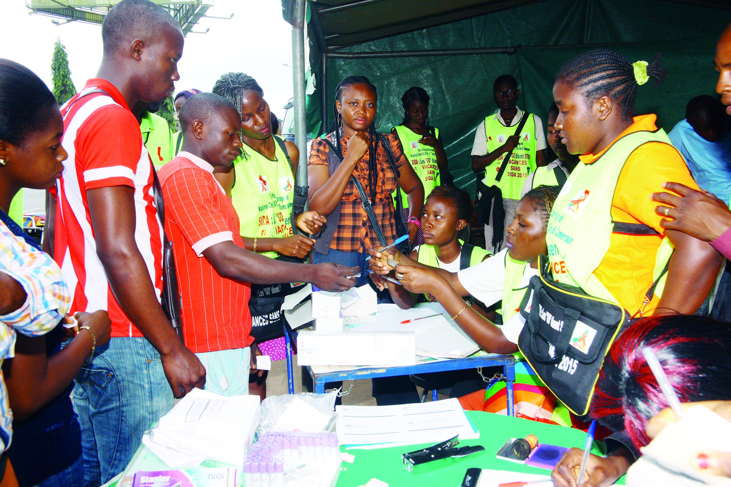 Image : Lutte contre le sida: le précieux concours de Chantal Biya