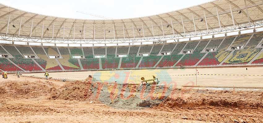 Chantier du stade d'Olembe : pas de répit