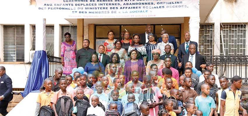 La mutuelle des personnels du Minas signent pour l'épanouissement des enfants en détresse.