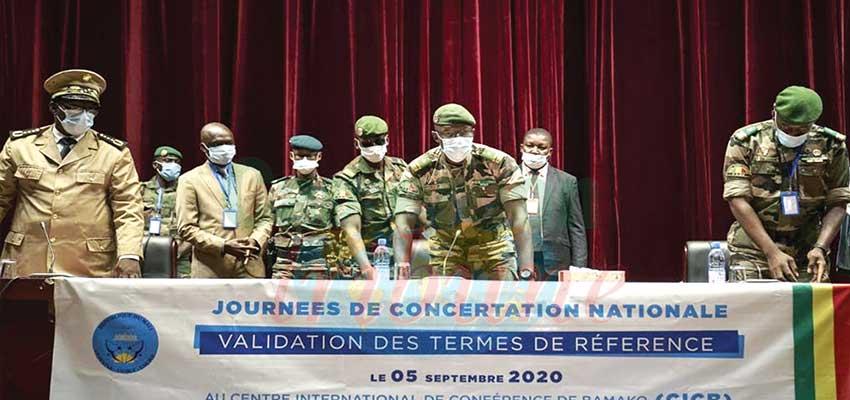 Mali : Military Junta Hold Transitional Talks