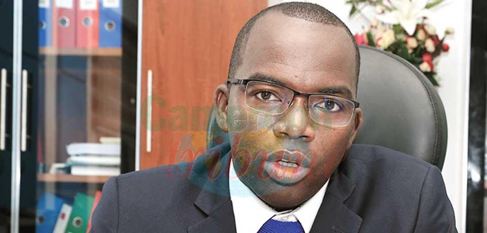 Dr Shalom Tchokfe Ndoula, secrétaire permanent du Programme élargi de vaccination.