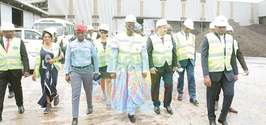 Minister Tchiroma insisted on transfer of technology and for companies to set up training centres which should be open to the public.