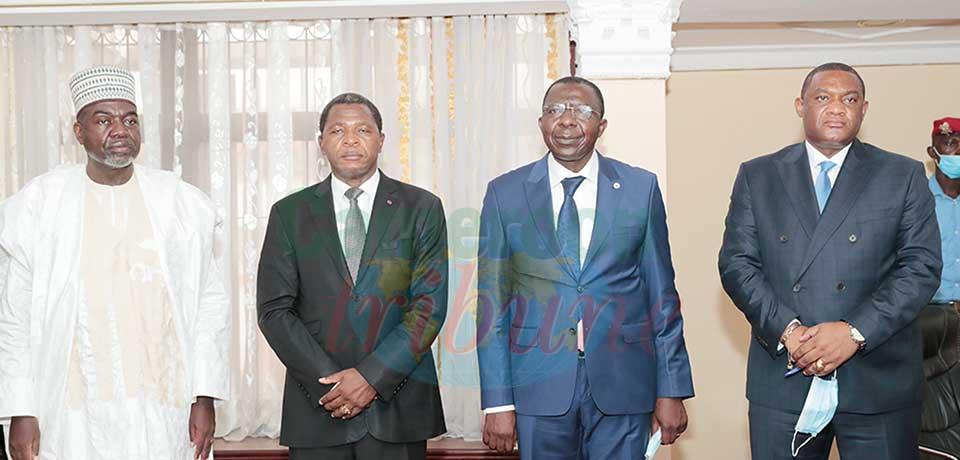 Les nouveaux responsables ont promis d'accompagner le ministre dans la réalisation optimale des missions qui lui sont confiées.