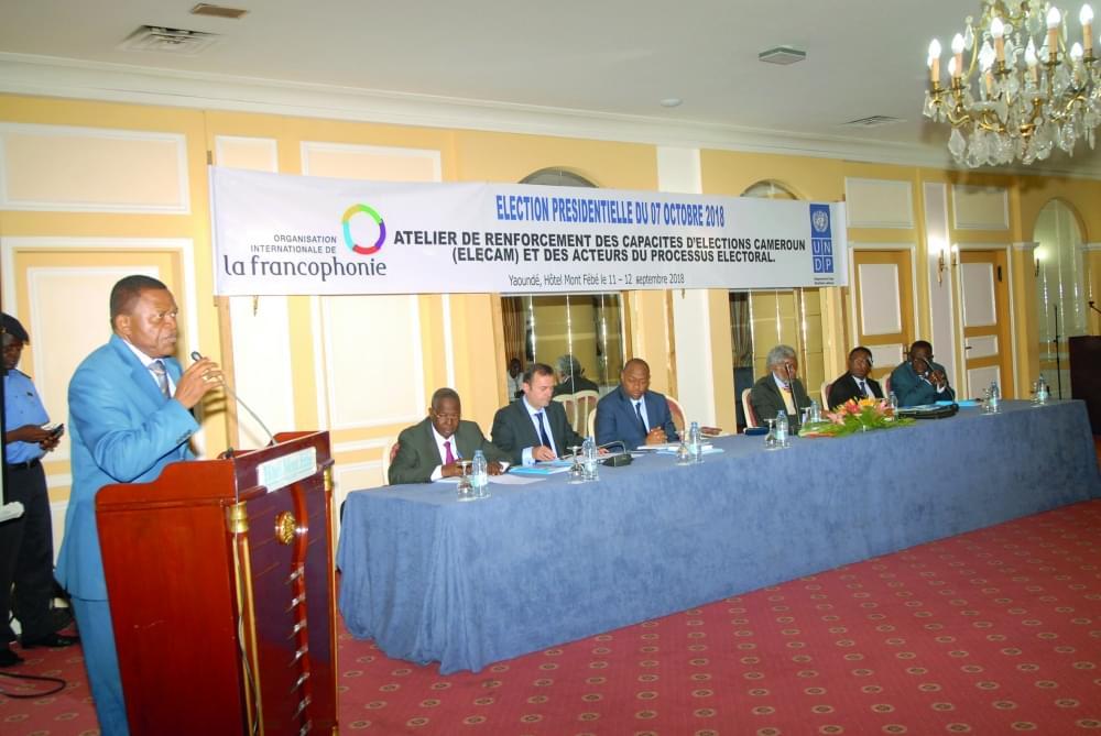 Image : Organisation: l'appui des partenaires internationaux