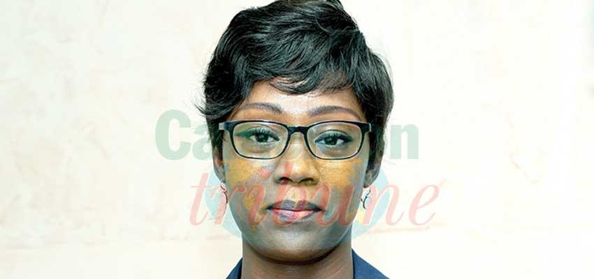 Barbara Elemva-Amana, chef de la brigade nationale des contrôles et de la répression des fraudes au ministère du Commerce.