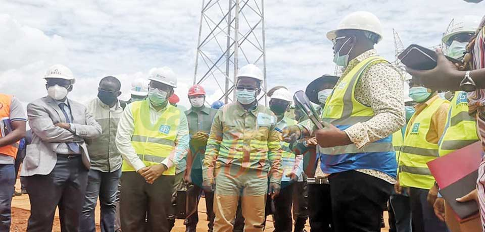 Transport de l'électricité : la ligne Yaoundé-Abong-Mbang progresse