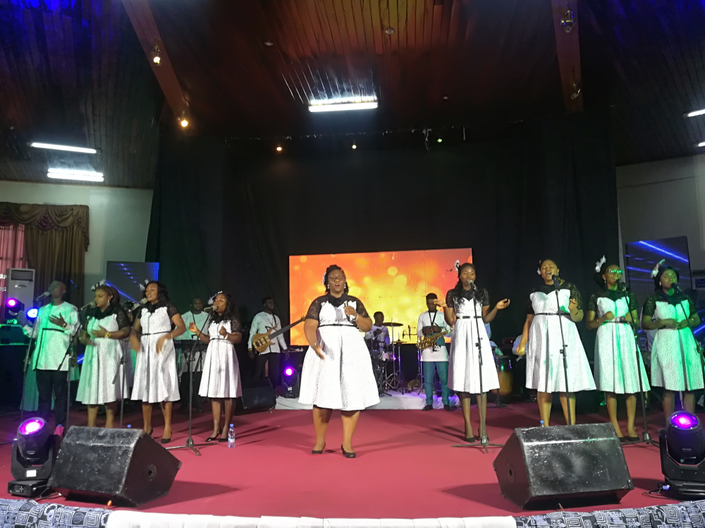 The 11th launch concert held on January 10, 2021 in Yaounde during which an altar was raised to the Lord.