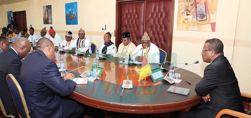 Les chefs traditionnels ont reçu des clarifications sus les modalités de participations au grand dialogue national.