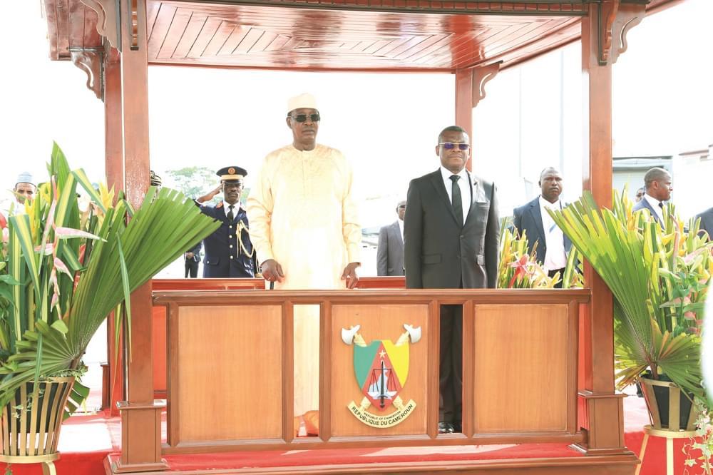 Des honneurs pour le président tchadien, Idriss Déby Itno.