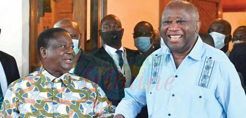 Côte d'Ivoire : Gbagbo et Bédié parlent réconciliation