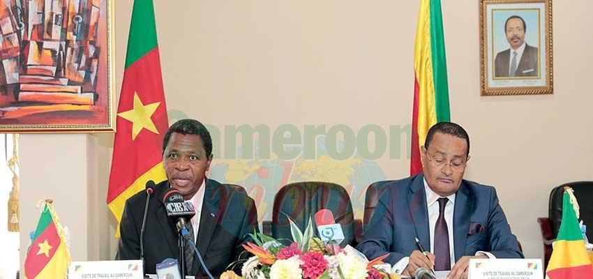 Le Cameroun et le Congo consolident leur relation via leurs frontières.