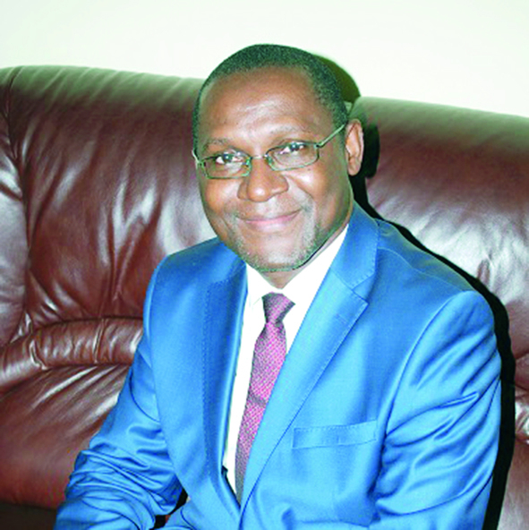 Prof. Ebot Ebot Enaw, General Manager Of The National Agency For Information And Communication Technologies (Antic).
