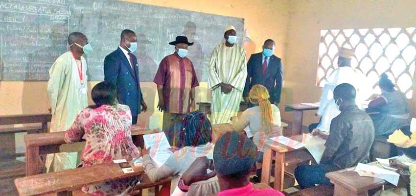 Concours administratifs : le Minfopra dans les salles d'examen