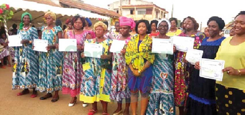 Vulgarisation de l'informatique:des femmes du Nyong-et-Mfoumou dans