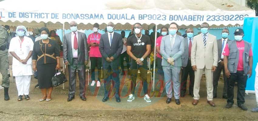 Hôpital de district de Bonassama : l'Unicef relance les vaccinations