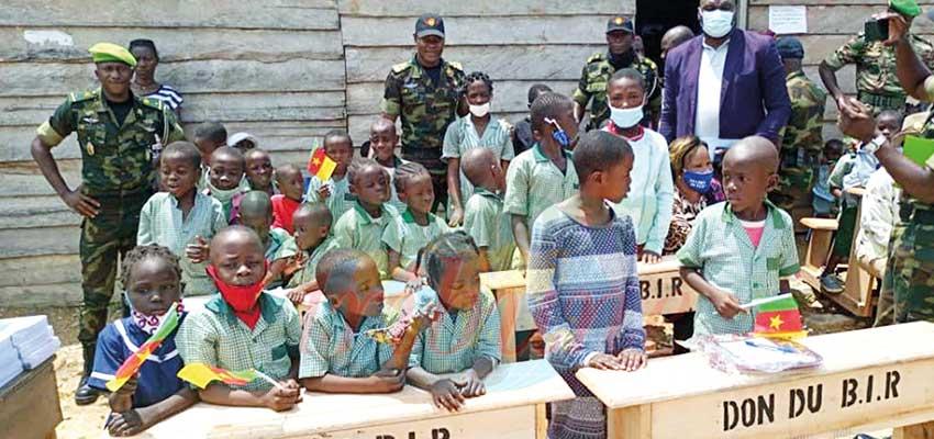 Education : le BIR fait des dons à Kribi
