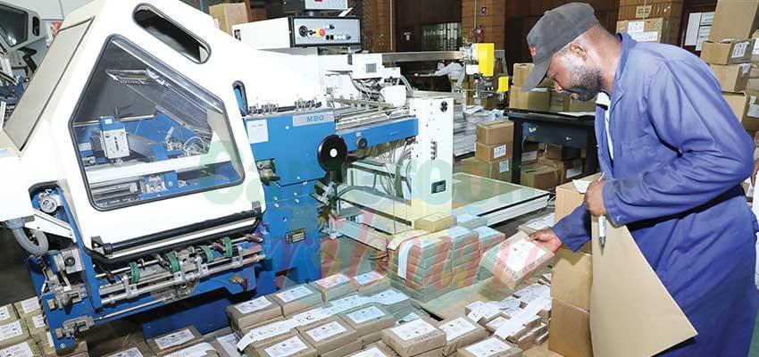 Electoral Materials : Production Accelerates
