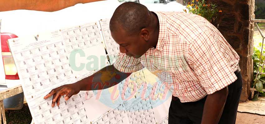 Mfoundi : les listes électorales disponibles