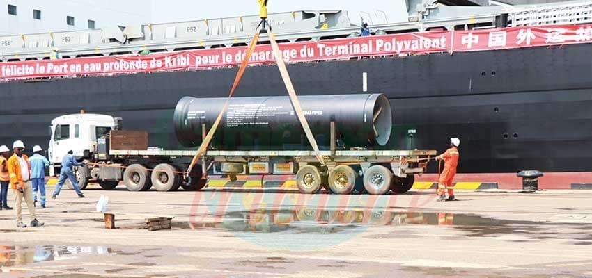 Port autonome de Kribi : le terminal polyvalent entre en activité