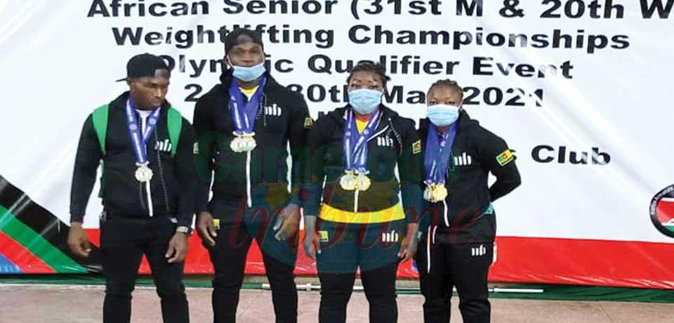 Championnats d'Afrique d'haltérophilie : 12 médailles pour le Cameroun