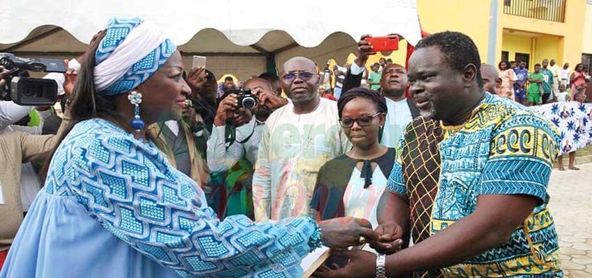 Logements sociaux Mbanga-Bakoko : les premiers propriétaires s'installent