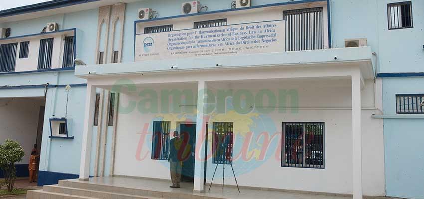 Une vue du siège de l'Ohada à Yaoundé : une organisation primordiale dans la sécurité juridique des affaires.
