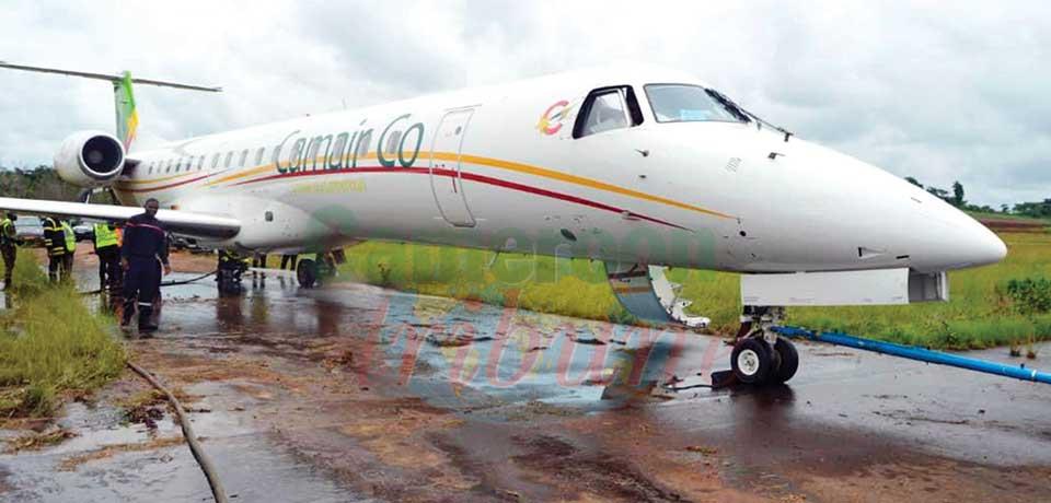 Avion sorti de piste à Nsimalen  : plus de peur que de mal
