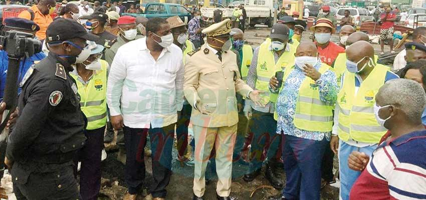 Ndogpassi : le préfet veut un marché propre