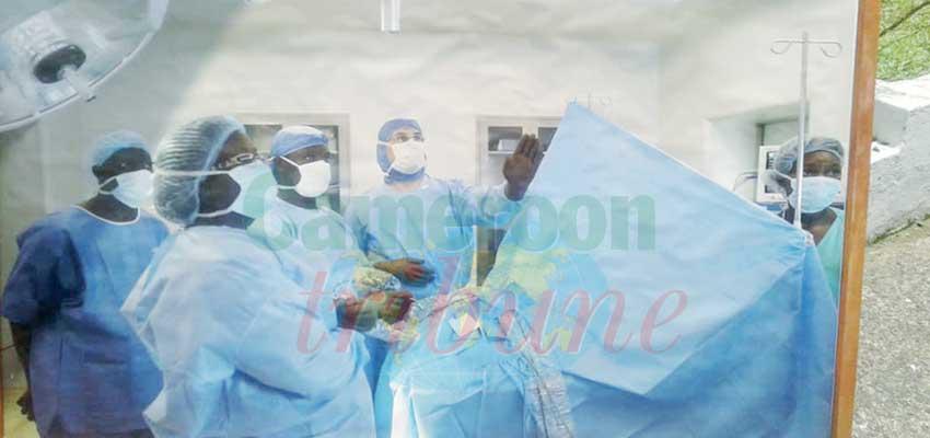 Douala: une dizaine d'enfants opérés d'encéphalite