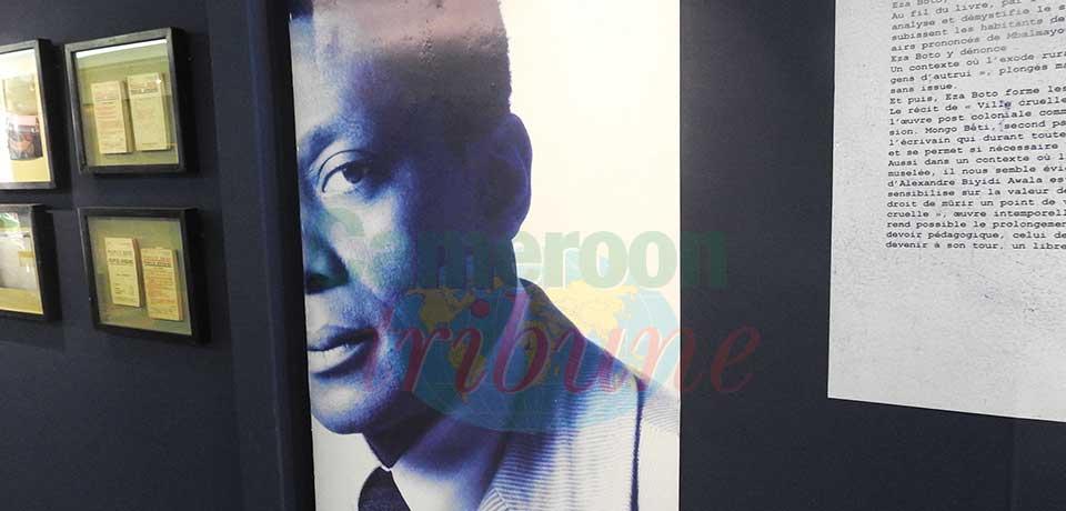 Exposition : souvenirs de Mongo Beti