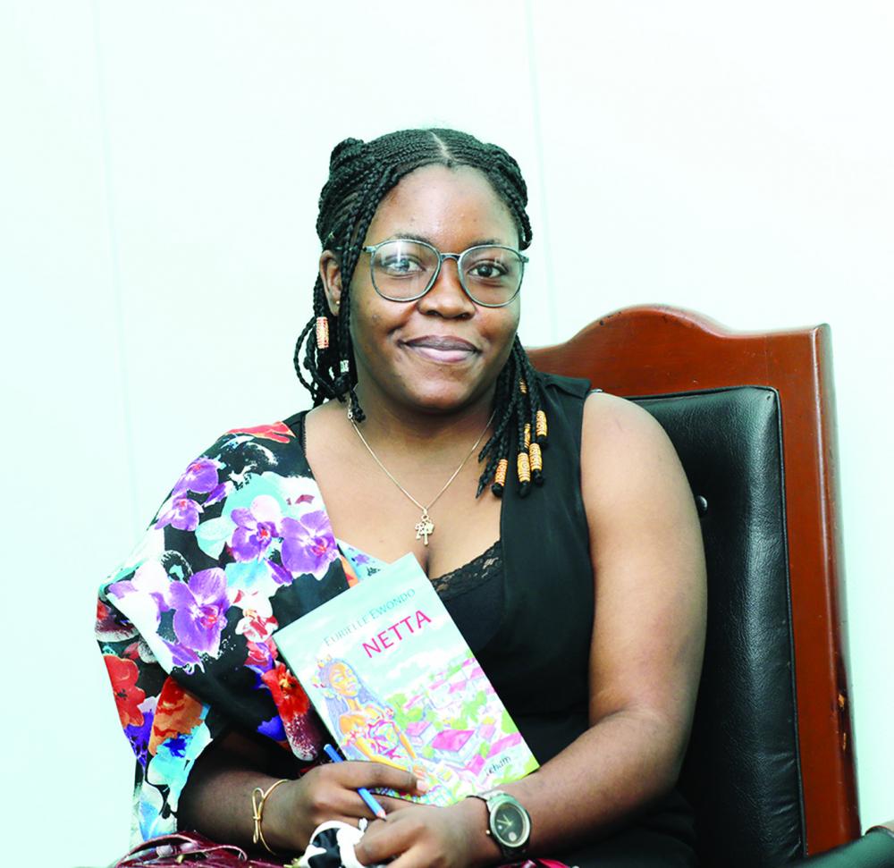 Eurielle Ewondo : de l'illustration au roman