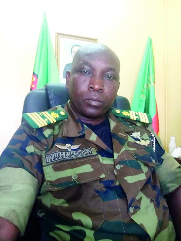 Colonel Touang Djakjinkréo Gabriel, commandant le 5e Bir de l'Adamaoua.