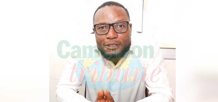 Yannick Atangana, ingénieur en urbanisme et cadre au service d'urbanisme de la mairie de la ville de Yaoundé.
