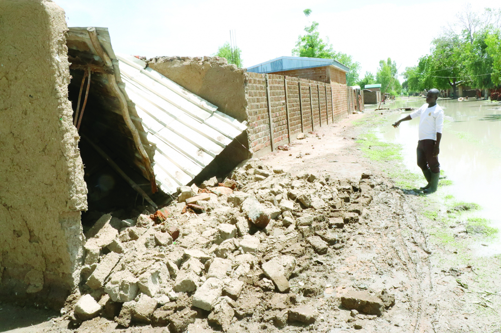 Intempéries : inondations à Maga