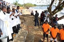 Kribi : la plage de Ngoyè-Mouamié sanctifiée