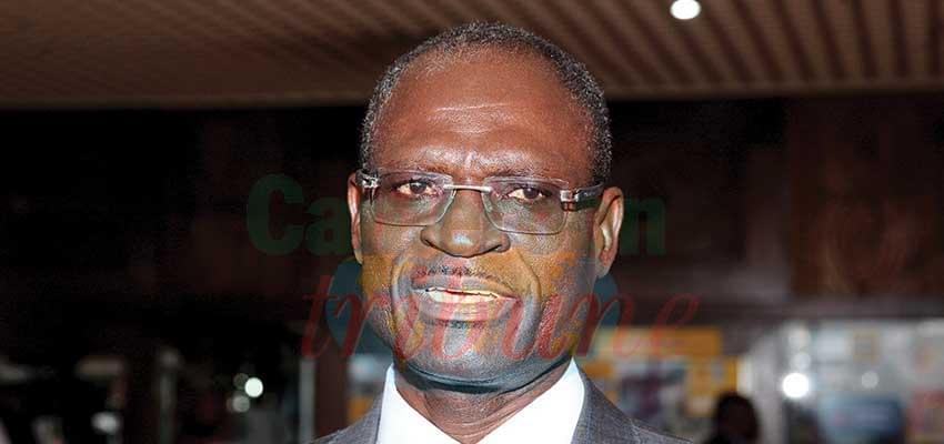 Alain Noël Olivier Mekulu Mvondo Akame, directeur général de la Caisse nationale de prévoyance sociale.