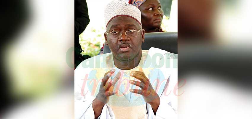 Ahmadou Sardaouna, directeur général de la Société immobilière du Cameroun.