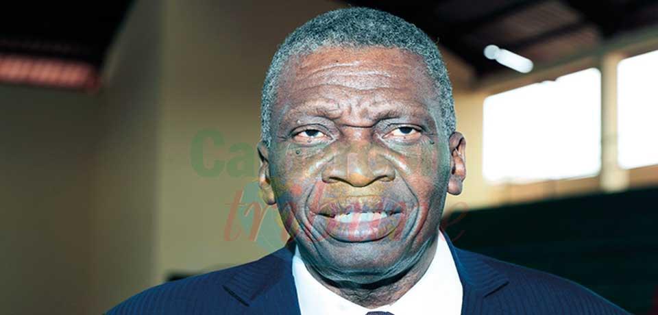 Raymond Mbita Mvaebeme, président de la Fédération camerounaise de handball (Fecahand).