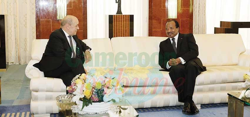 La France reste aux côtés du Cameroun.