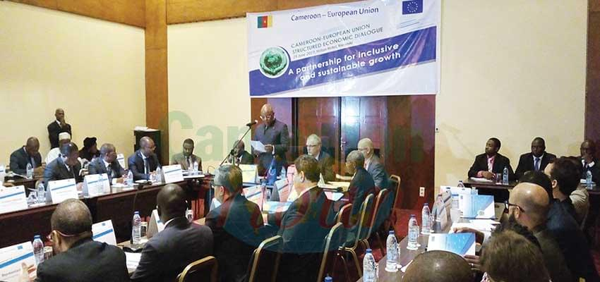 Nine major associations of key businesses in Cameroon took part in the dialogue.