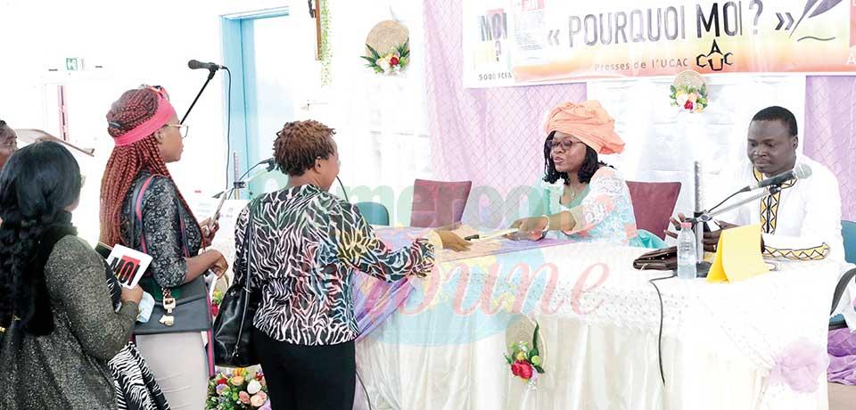 L'ouvrage « Pourquoi moi ? » de Raïssa Mengada présenté hier à Yaoundé est un cri de cœur qui appelle l'humanité à ne jamais abandonner.