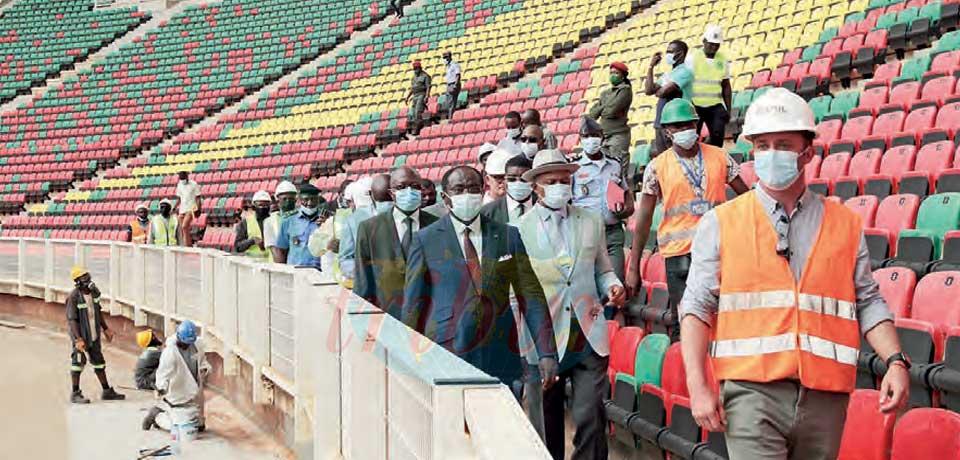 Stade d'Olembe  : un premier match test envisagé