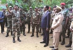 Le Mindef au poste avancé d'Ebengon II.