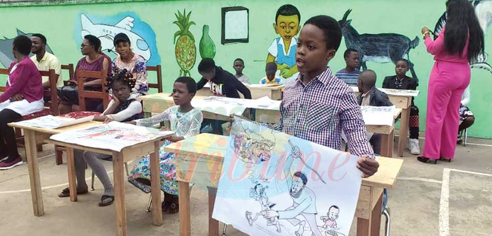 Buea : Igniting Drawing Skills In Children