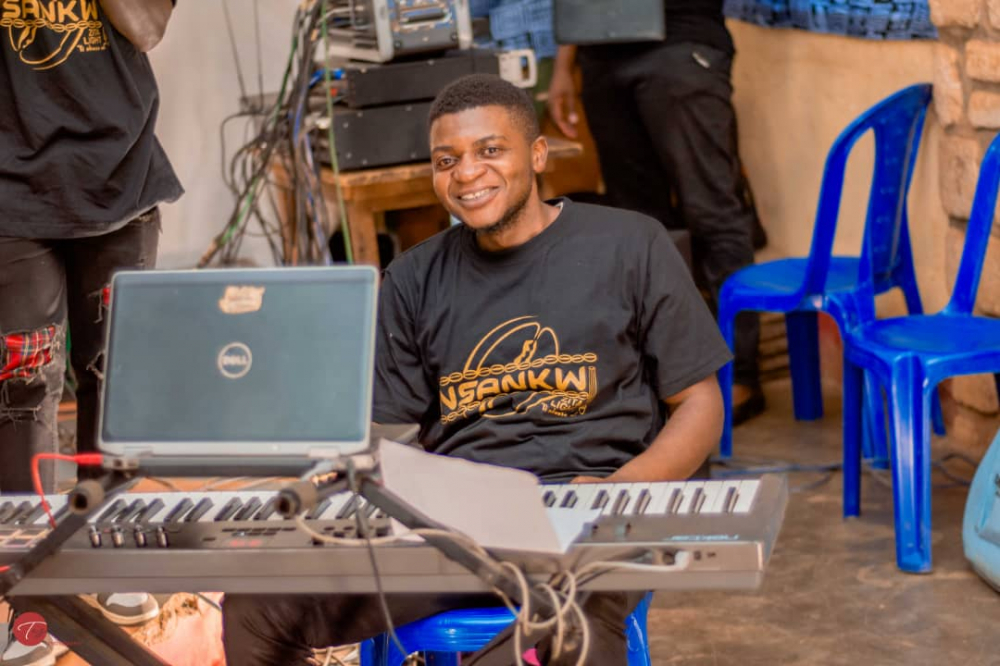 """Ringnwi Charles Funteh: """"Even those who had interest in doing music had no one to train them."""""""