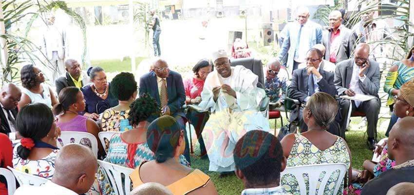 Maiden Visit of General Manager : SIC Residents Expose Difficulties