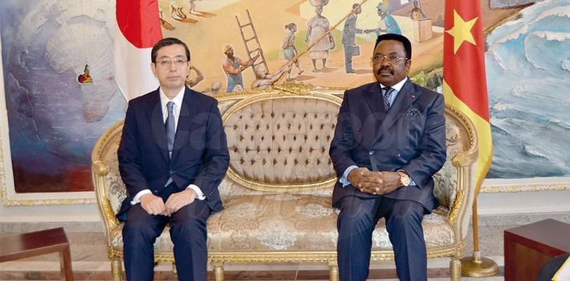 Diplomacy: Two Ambassadors Present Accreditation Documents