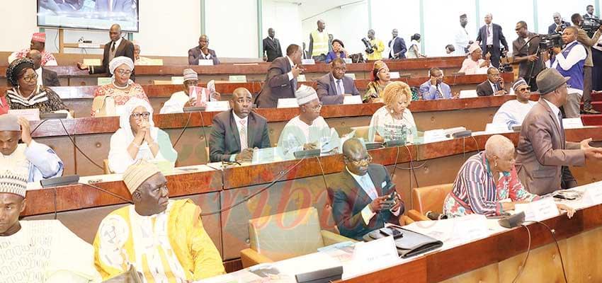 Assemblée nationale : on prépare la remise des attributs